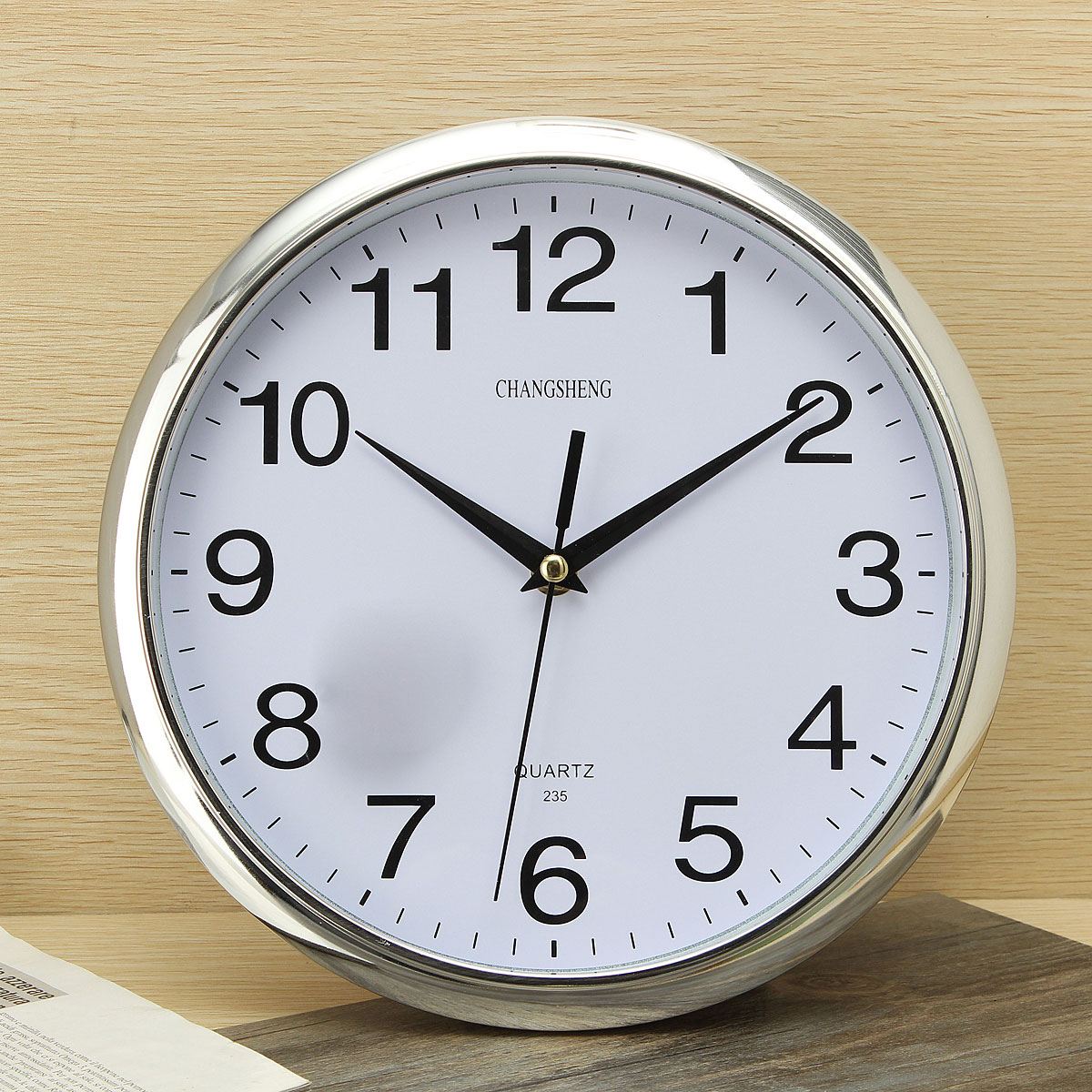 retro kitchen wall clock maid mixer large vintage round modern home bedroom time