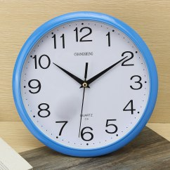 Retro Kitchen Wall Clock Las Vegas Hotel With Large Vintage Round Modern Home Bedroom Time