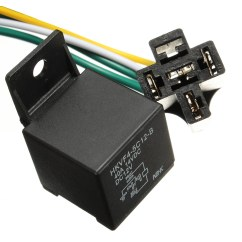12vdc 30 40a Relay Wiring Diagram Msi Motherboard Car Auto Dc 12v Volt Automotive 4 Pin Wire