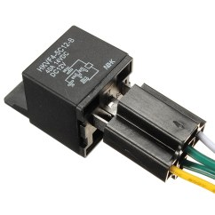 12vdc 30 40a Relay Wiring Diagram For Car Stereo Sony Auto Dc 12v Volt Automotive 4 Pin Wire