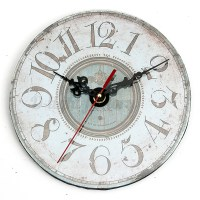 Vintage Antique Rustic Shabby Chic Wall Clock Home Room ...