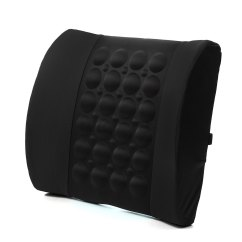 Posture Support Seat Cushion Fitted Chair Slipcovers Car Back Lumbar Electrical Massage