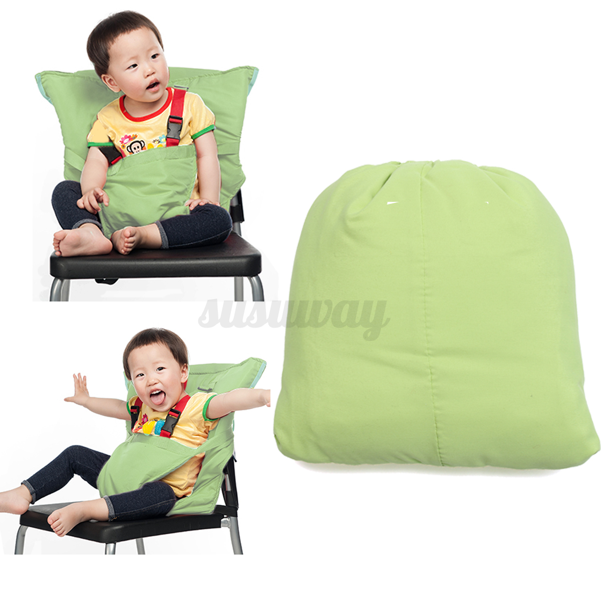 infant feeding chair leg noise reduction portable travel baby kid high seat