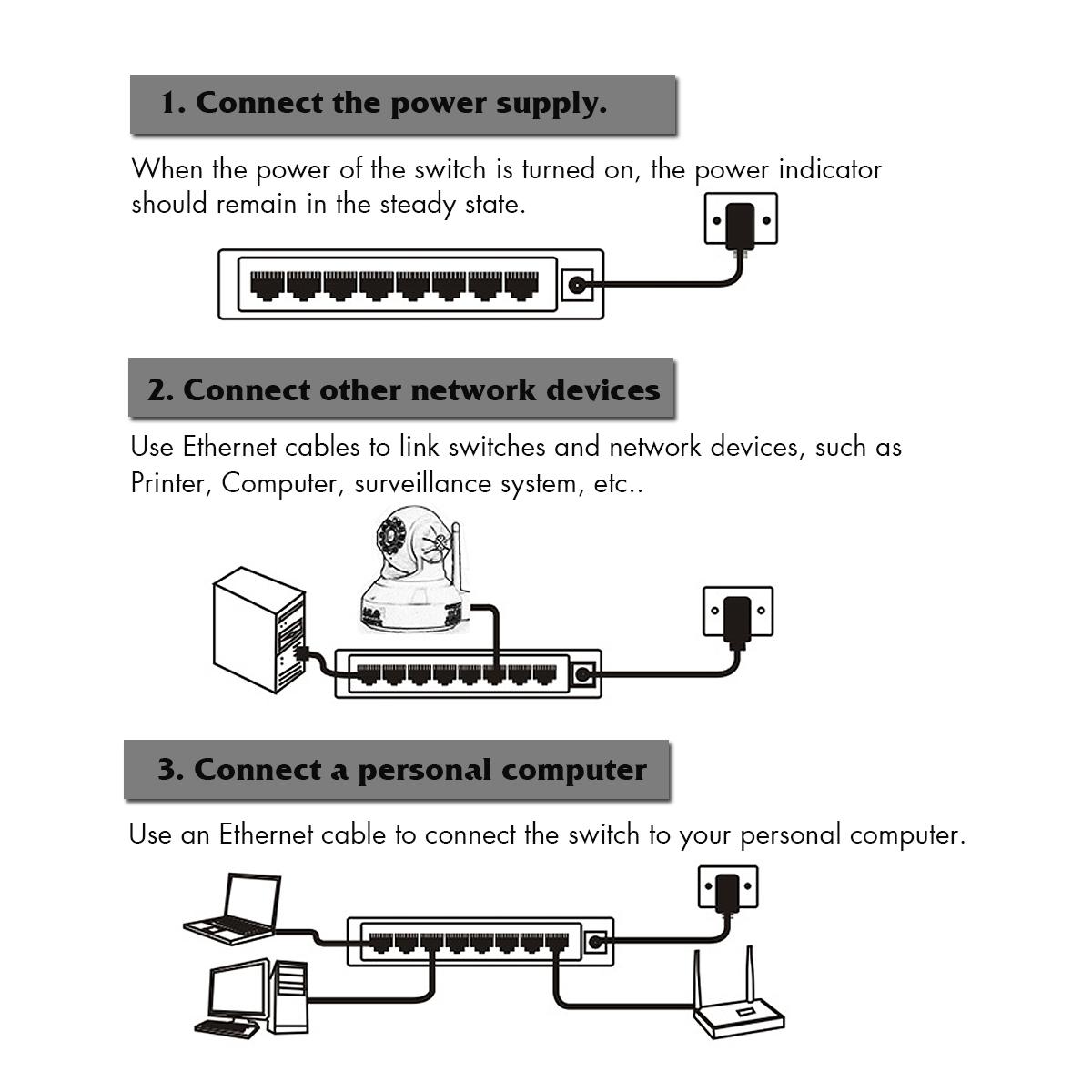 hight resolution of 5v 5 ports 8 ports rj 45 gigabit