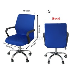 Stretch Chair Covers Australia Top High Chairs Canada Swivel Computer Cover Office Spandex