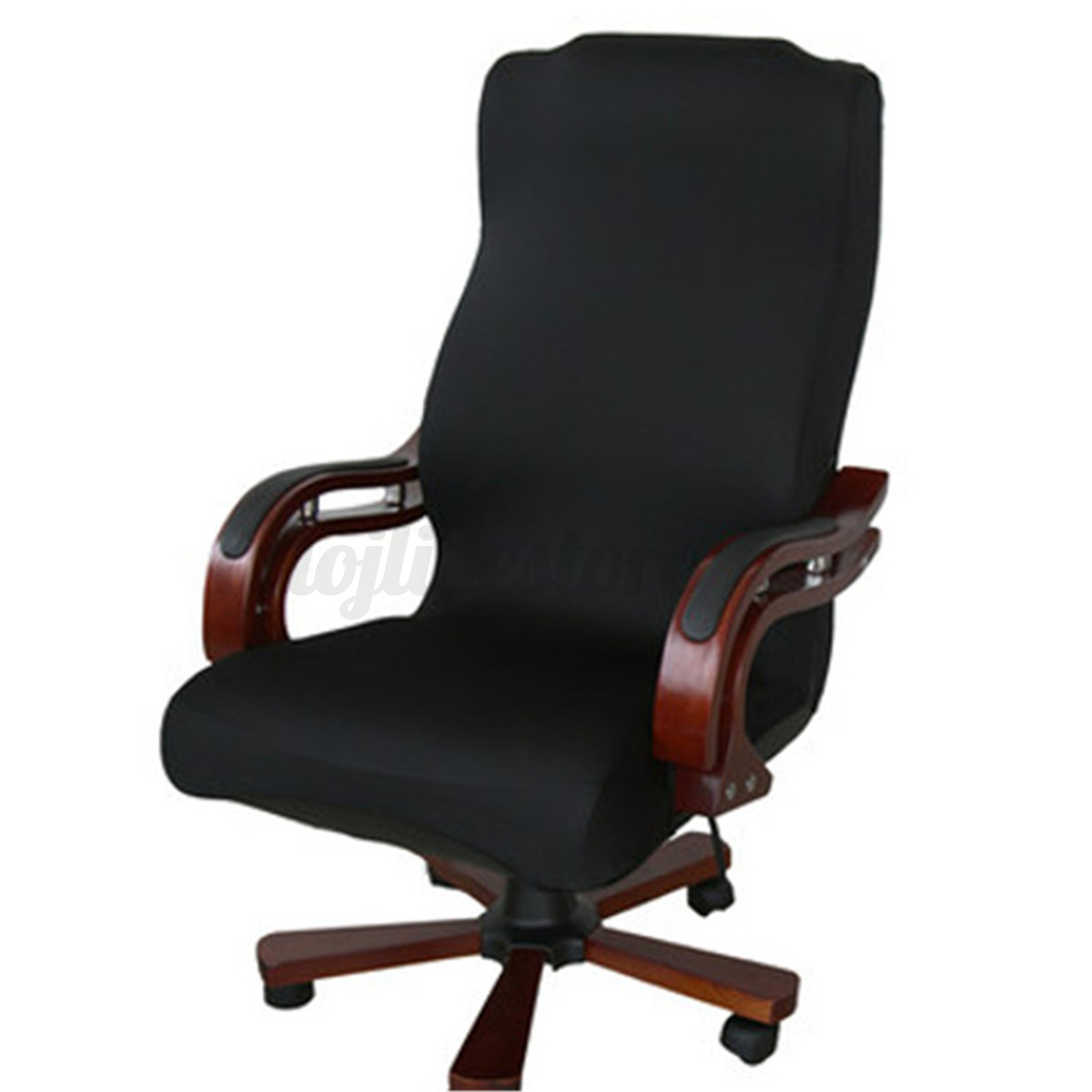 desk chair seat covers remy side swivel computer cover stretch office spandex