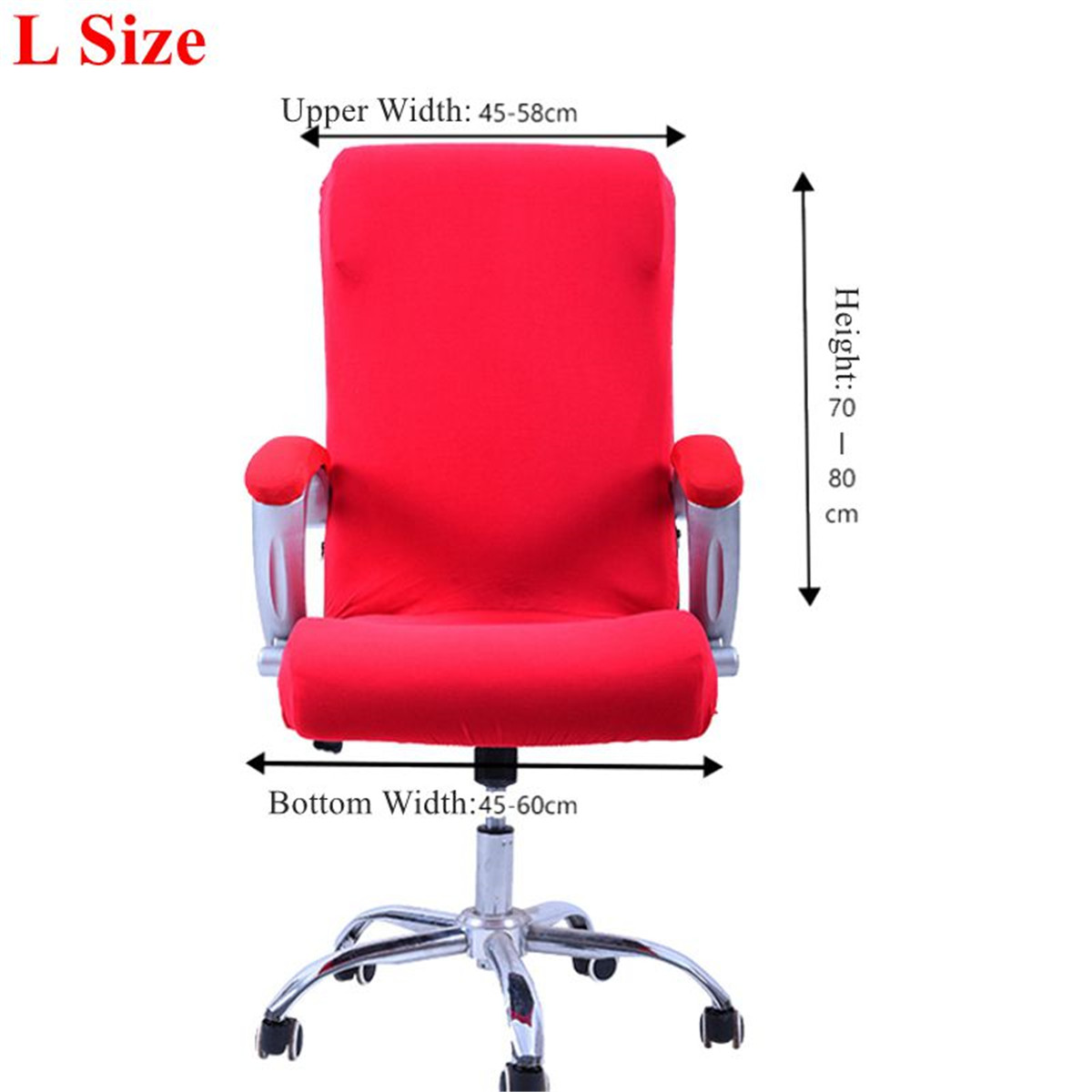 swivel chair covers ergonomic for lower back pain stretch elastic office computer slip