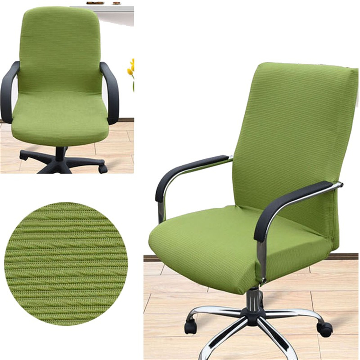 swivel chair covers where to buy in cape town stretch elastic office computer slip