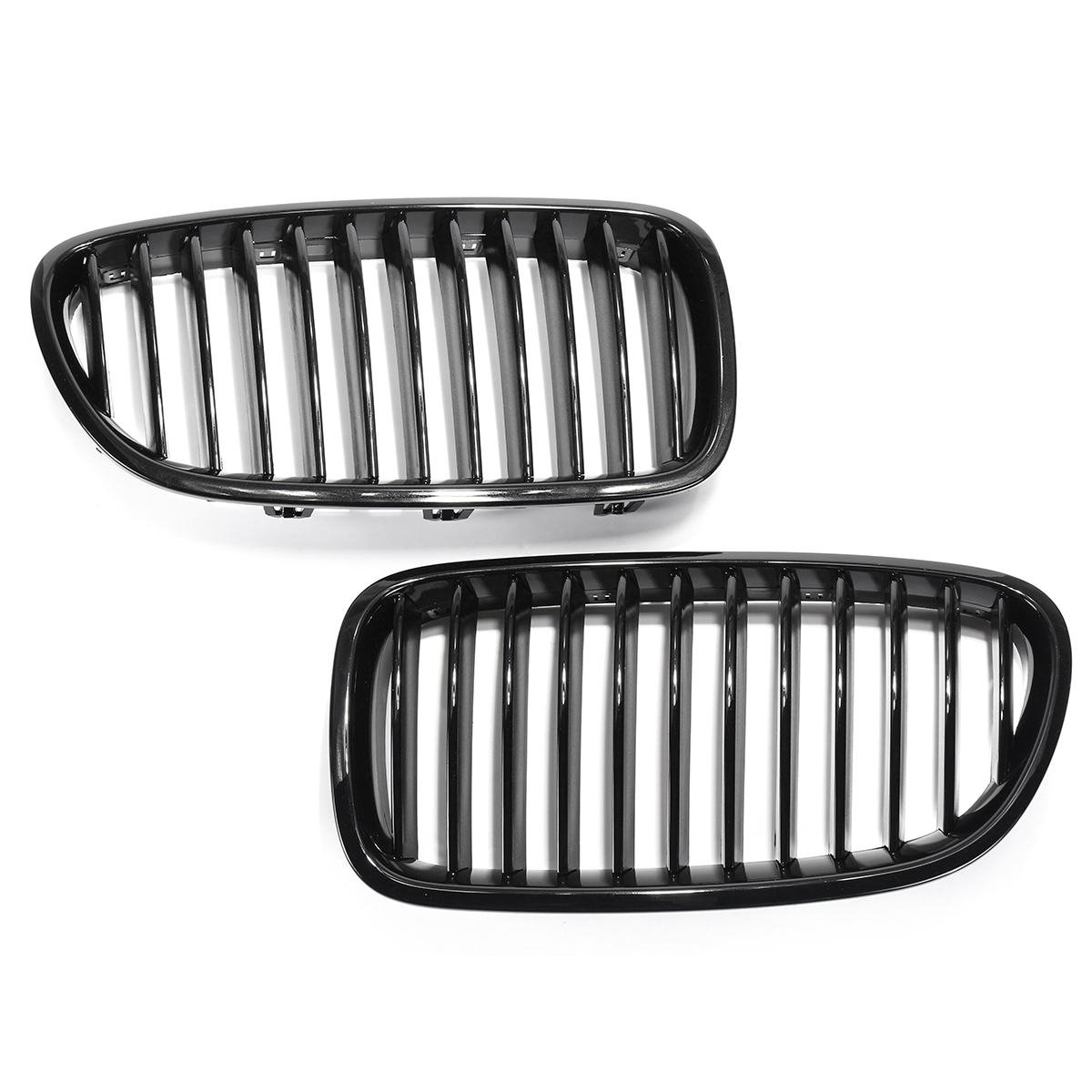 Front Kidney Grille Grill Gloss Black For BMW F10 F11 F18