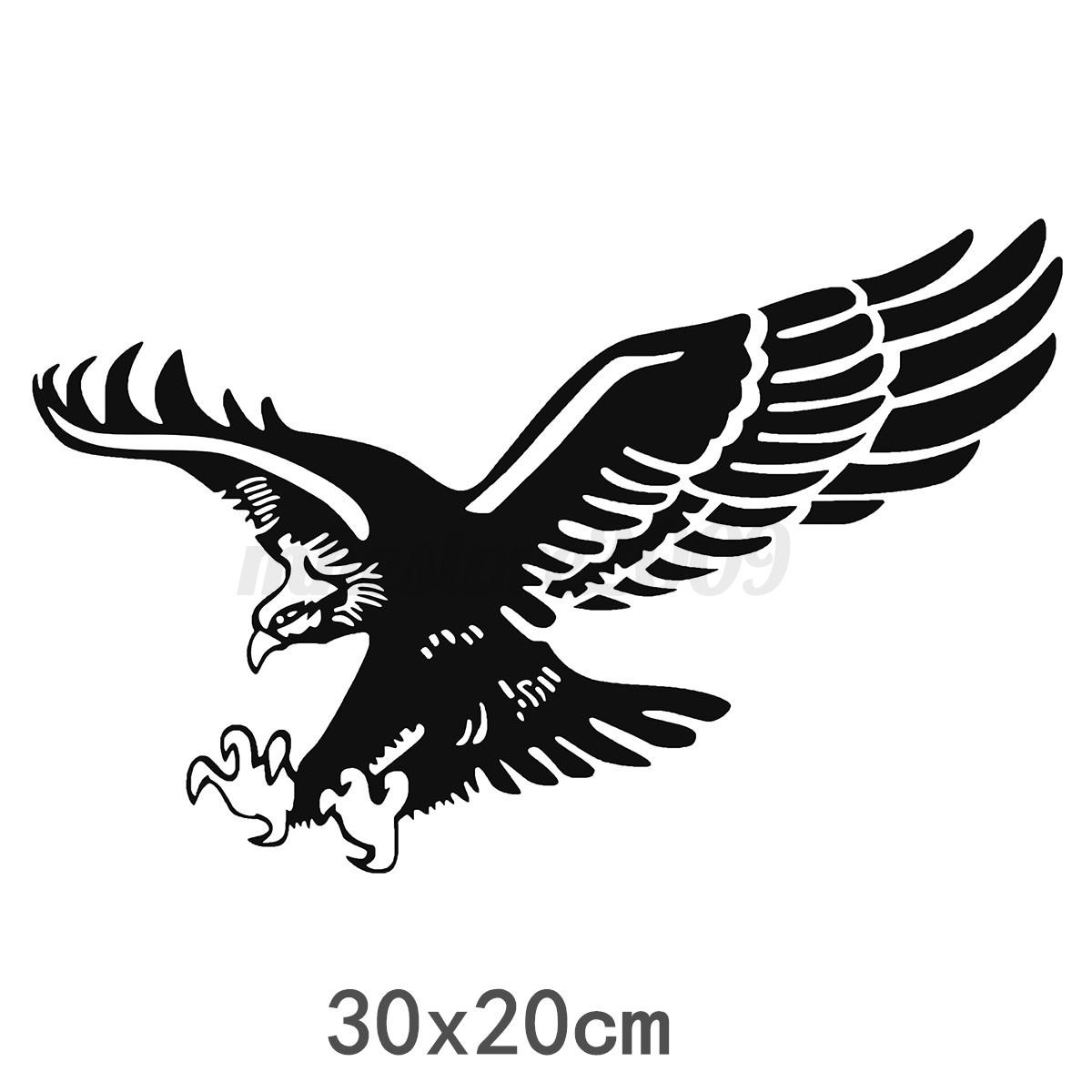 Car Truck Suv Decal Vinyl Sticker Hood Decals Flying Eagle