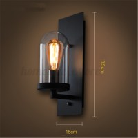 Retro Vintage Outdoor Wall Lamp Lantern Sconce Light