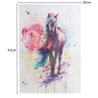 """""""Multicolored Horse"""" Canvas Print Wall Art Painting ..."""