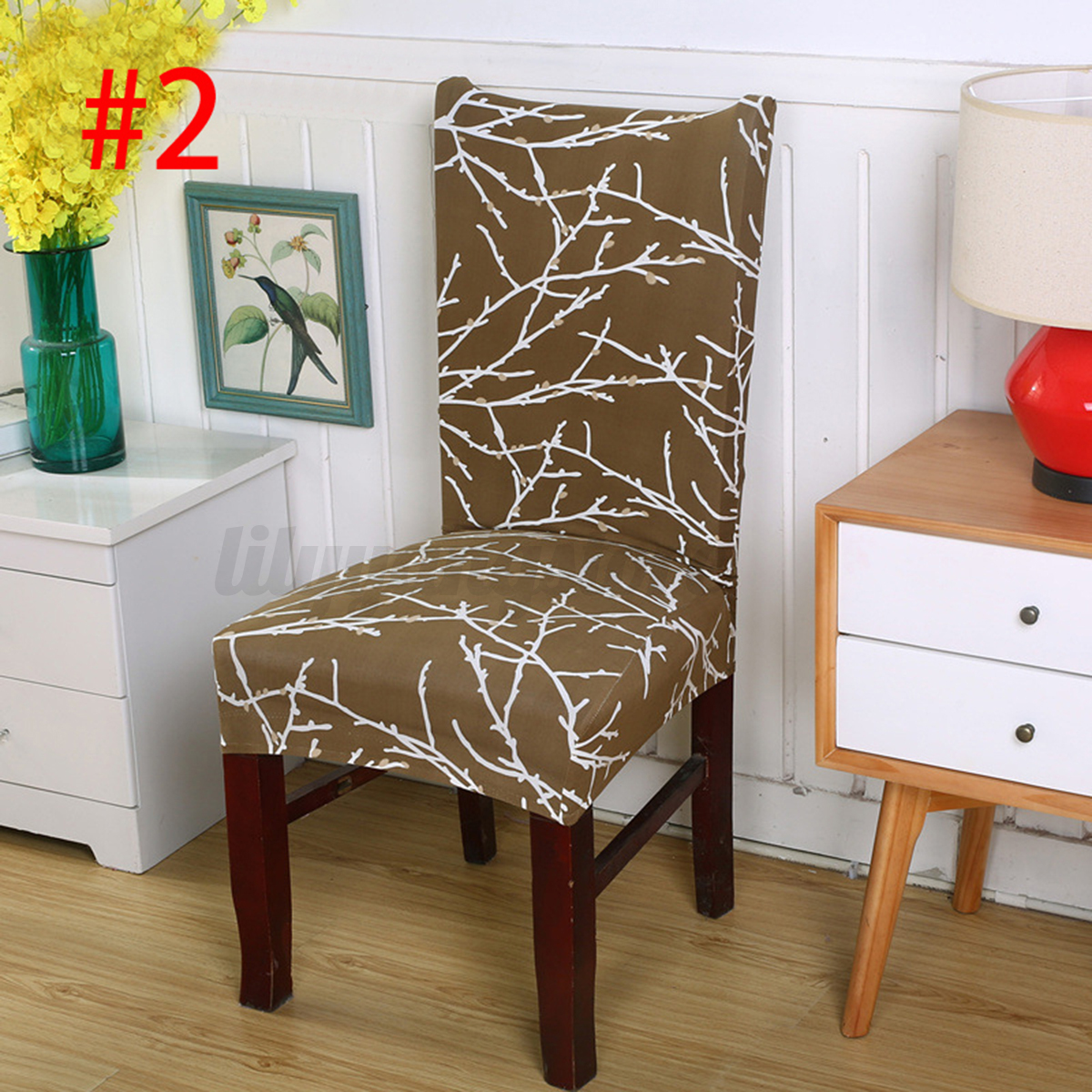 elastic chair covers for weddings used kitchen table and chairs stretch cover seat spandex washable