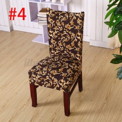Elastic Chair Covers For Weddings Youth Table And Chairs Stretch Cover Seat Spandex Washable
