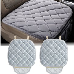 Small Chair Mat Seating Area Chairs New Plush Anti Slip Car Seat Cover Rhombus