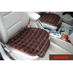 Chair Pads Non Slip Best Office Za Winter Car Auto Plush Anti Front Row Seat Cover Mat