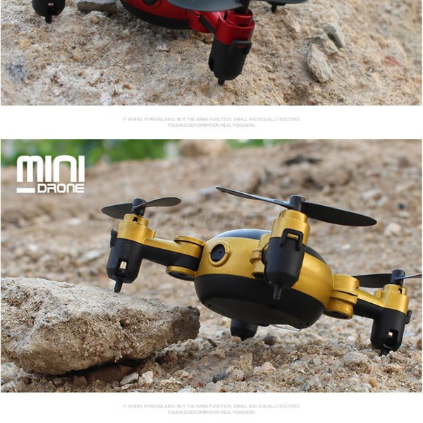 Mini Wifi Rc Pliable Quadcopter Drone Hd Camra 2.4ghz 6