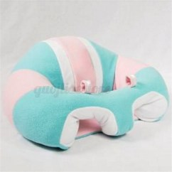 Baby Sofa Seater Circle Pillow Seat Learn Sit Soft Chair Children Kids Sleeping