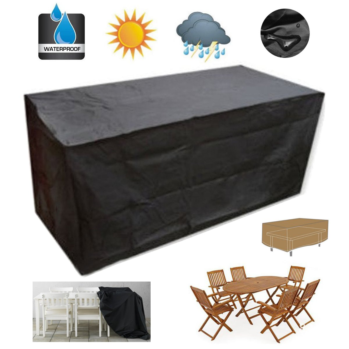 waterproof garden sofa covers home theatre sofas melbourne set outdoor patio 2 12 seater
