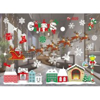 Home Window Glass Wall Sticker Decals Hotel Holiday Party