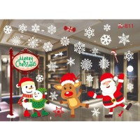 Home Window Glass Wall Sticker Decals Hotel Holiday Party ...