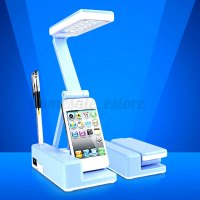 21 LED Rechargeable Table Lamp Rotatable Foldable Portable ...