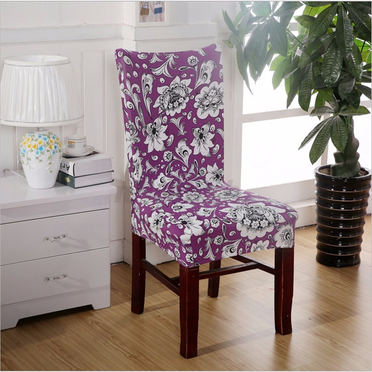 chair seat covers with elastic ikea harry slipcover removable stretch slipcovers short dining room