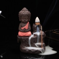 Ceramic Small Buddha Cone Smoke Back