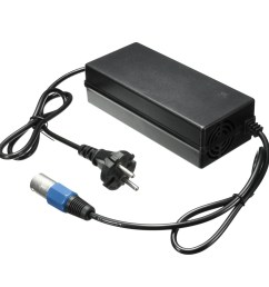 details about 36v 1 6a male connector electric battery charger adapter for scooter bike ezip [ 1200 x 1200 Pixel ]