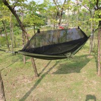 Double Hammock Tree 2 People Person Patio Bed Swing ...