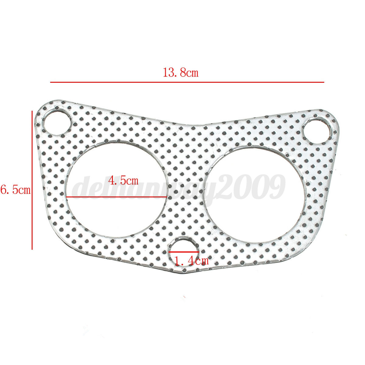 Engine Exhaust Manifold Down Pipe Header Gasket for Honda