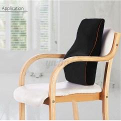 Memory Foam Desk Chair Cushion Bath For Babies Car Seat Back Waist Pillow Lumbar