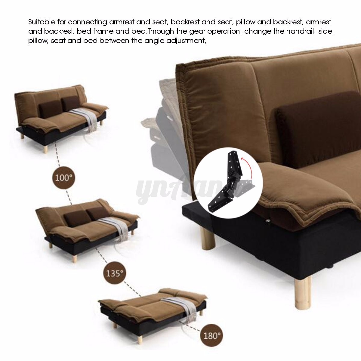 sofa bed mechanism white decorating ideas 1pair diy lift up top coffee table furniture