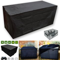 Waterproof Garden Sofa Covers Brown Light Grey Walls Set Outdoor Patio 2 12 Seater
