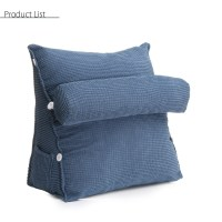 Sofa Bed Lounger Cushion Adjustable Waist Neck Back ...
