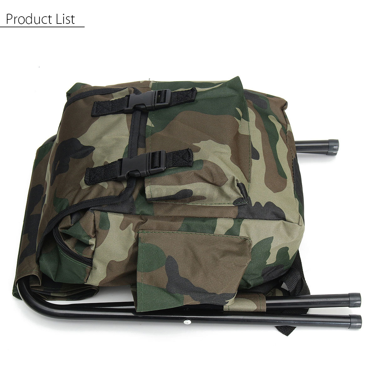 fishing backpack chair exercise youtube outdoor tackle bag box camping foldable