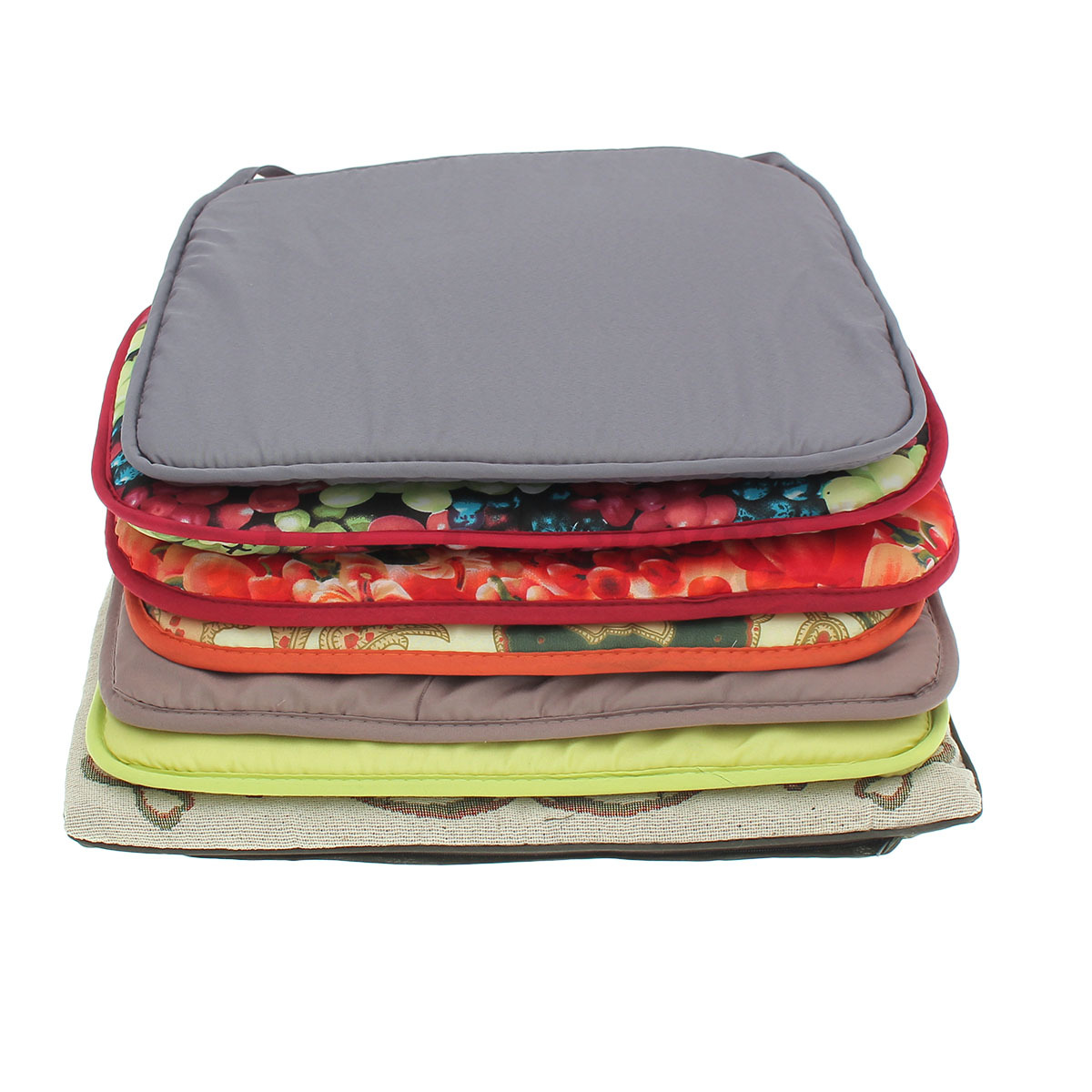 office chair pads tall patio table and cover soft cushion seat removable home