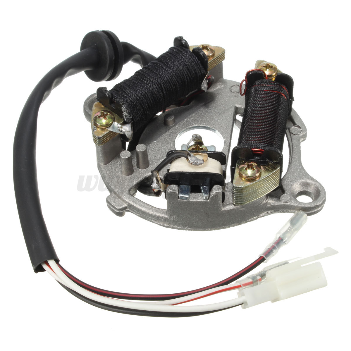 motorcycle stator wiring diagram 2003 lincoln navigator engine bike ignition magneto coil assembly for