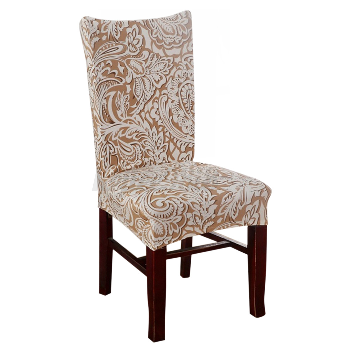 dining room chair covers ebay antique morris cushions 6pcs removable elastic stretch slipcovers short
