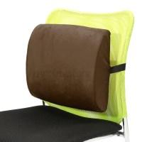Memory Foam Lumbar Cushion Back Support Chair Waist Pillow ...