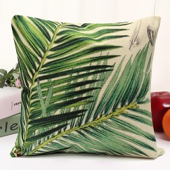 Tropical Sofa Throw Cover Com Bed Reviews Classical Floral Plant Leaf Cushion Covers Waist