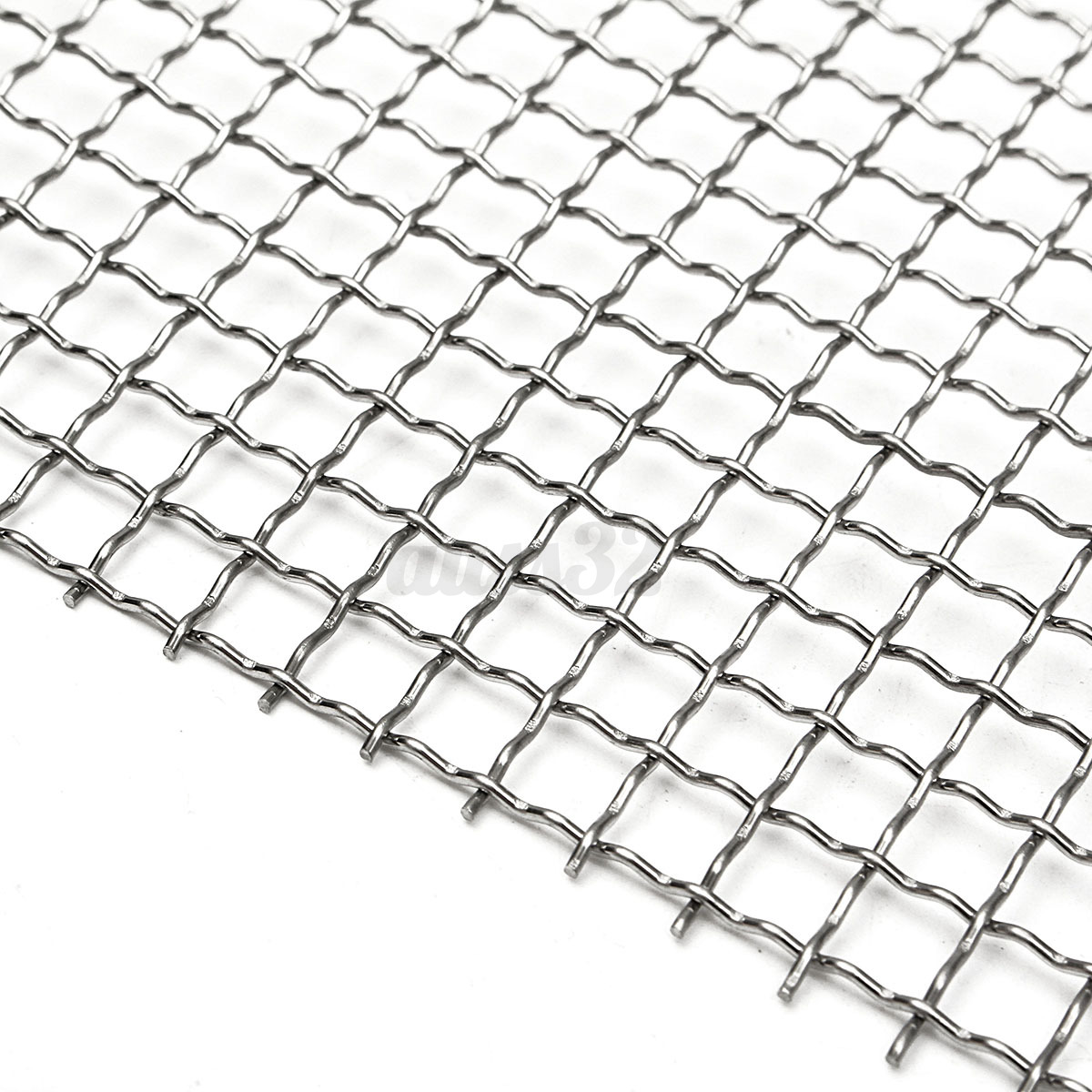 12 X 12 4 Micron Mesh 304 Stainless Steel Cloth Screen Filter Square Sheet