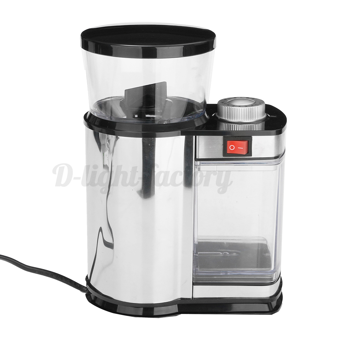 electric grinder kitchen island light stainless steel coffee bean spice mill