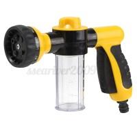 8 In 1 Jet Nozzle Spray Head Gun Soap Dispenser Garden ...