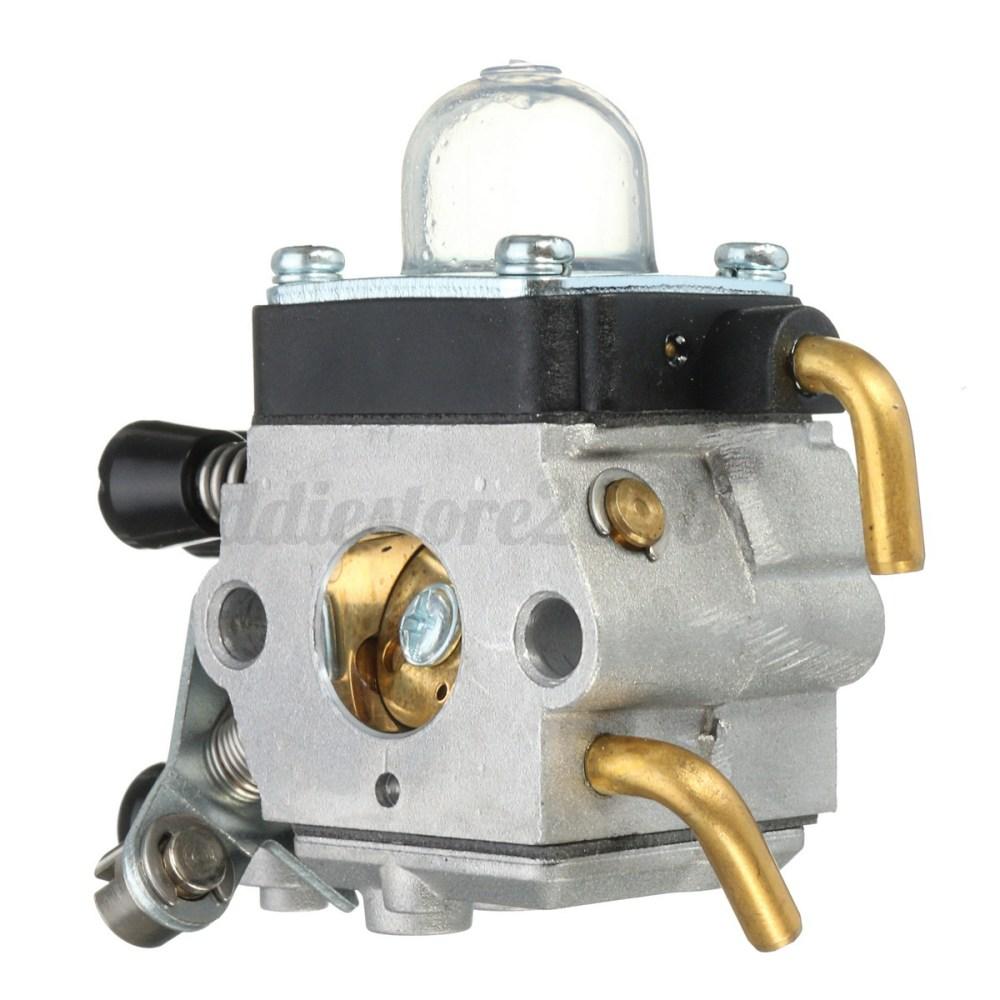 medium resolution of carburetor air fuel filter kit for stihl fs74 fs75 fs76 fs80 fs85 fs38 fs55 zama 4 4 of 12