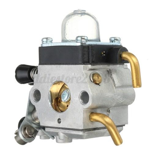 small resolution of carburetor air fuel filter kit for stihl fs74 fs75 fs76 fs80 fs85 fs38 fs55 zama 4 4 of 12