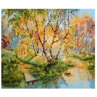 DIY Hand Paint Digital Oil Painting By Number Kit Canvas ...