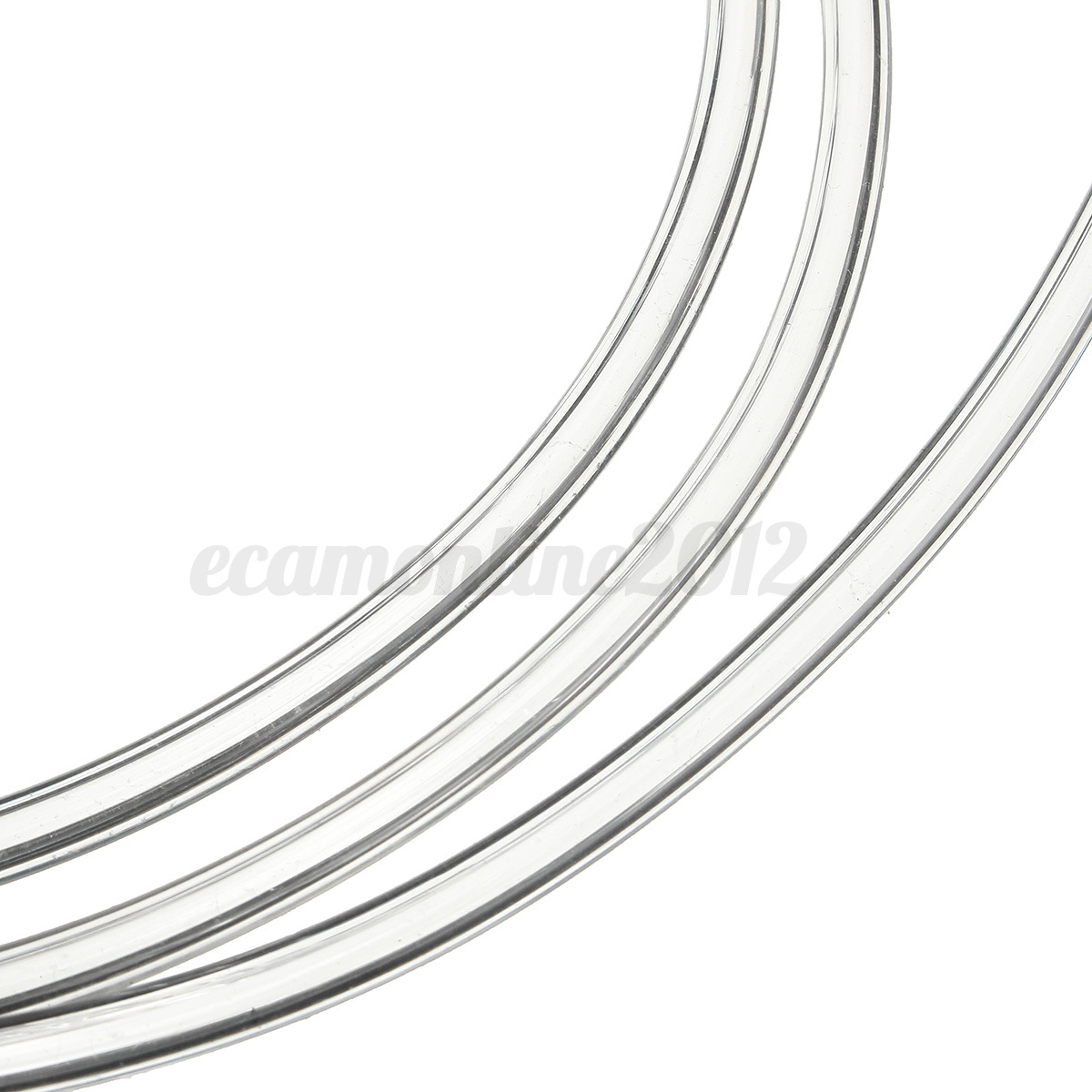 4m 2mm Clear Fuel Tube Petrolsel Oil Line Hose For