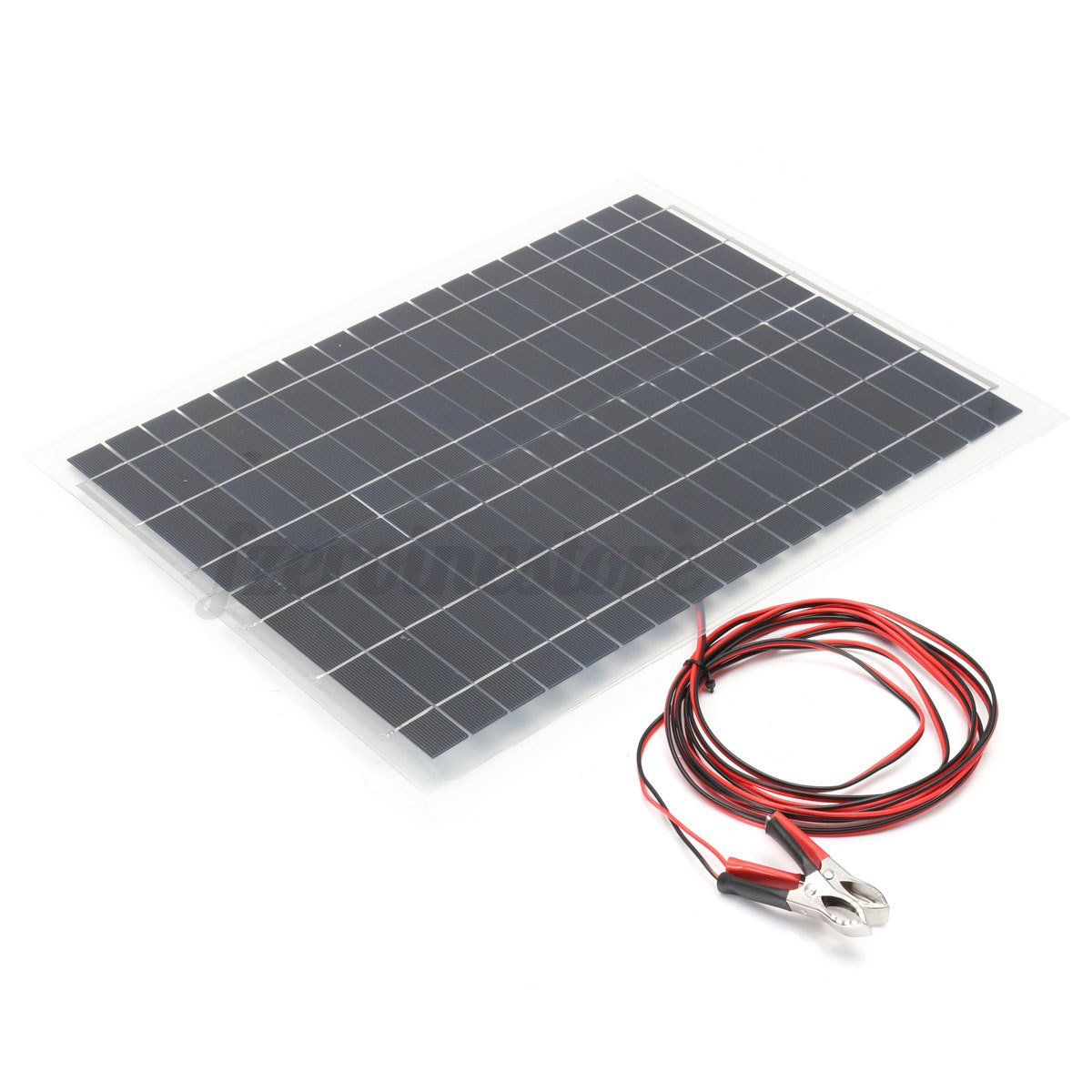 rv solar software testing life cycle diagram 20w 12v flexible panel kit 4m cable for battery