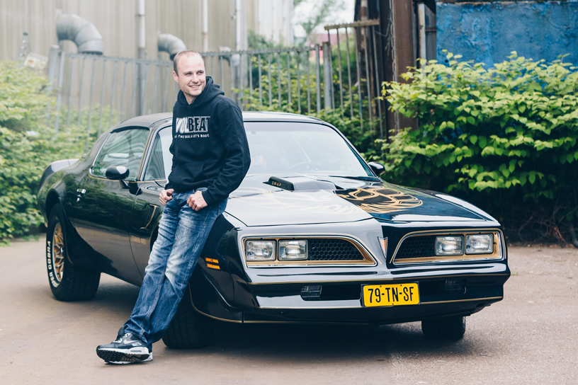 Pontiac, Trans Am, Firebird, 1977, Classic car, Smokey and the bandid, Loveshoot, stoer, trouwauto, amerikaanse, Muscle, car, Amsterdam, haven, bruidsfotograaf,